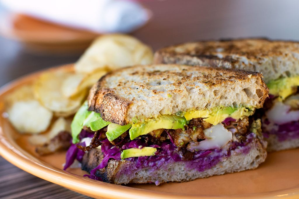 Cauliflower Sandwich