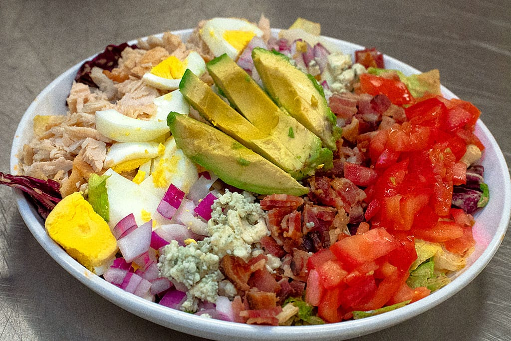 Roasted Turkey Cobb Salad